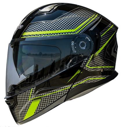 Vega Caldera 2 Modular Motorcycle Helmet (Hi-Vis Blade, 3X-Large) picture