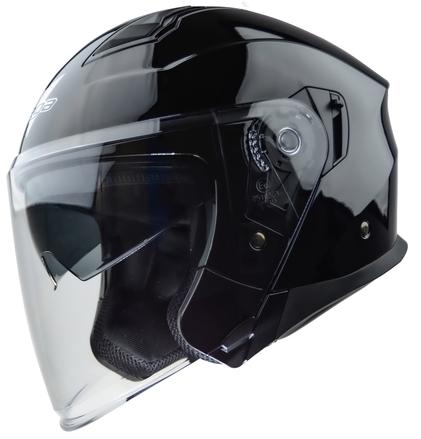 Vega Magna Touring Helmet (Gloss Black, Medium) picture
