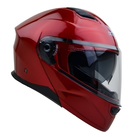 Vega Caldera 2 Modular Motorcycle Helmet (Velocity Red, Medium) picture