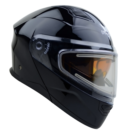 Vega Caldera 2 Modular Snowmobile Helmet (Gloss Black, Medium) picture
