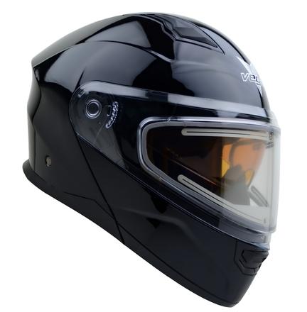 Vega Caldera 2 Modular Snowmobile Helmet (Gloss Black, Large) picture