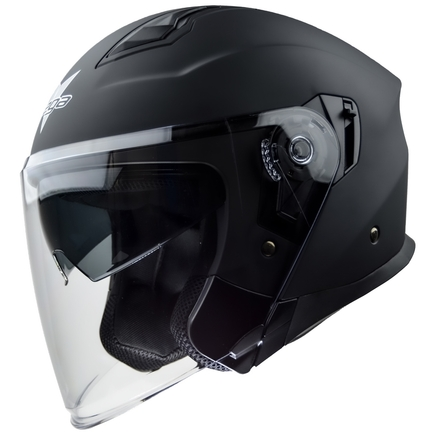 Vega Magna Touring Helmet (Matte Black, Small) picture