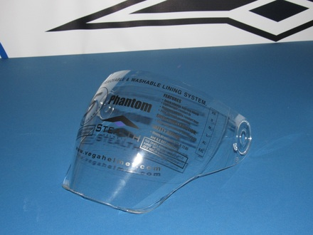 Vega Phantom convertible helmet replacement Anti-fog Shield picture