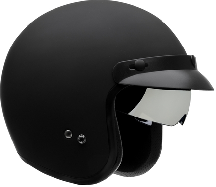 Vega X390 Open Face Helmet (Matte Black, Large) picture