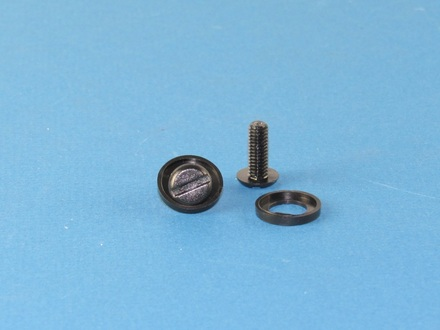Vega Summit 3.0 Full Face Modular Helmet Replacement Cheek Bolt and Washer Nut - Set picture