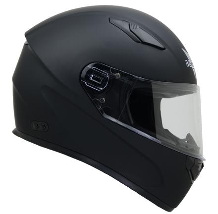 Vega Helmets 6100-057 Ultra Full Face Helmet for Men & Women (Matte Black, 3X-Large) picture