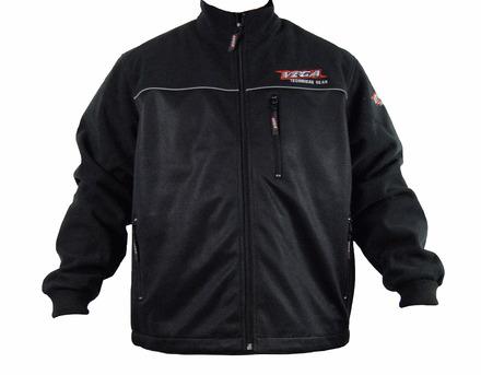 Vega Technical Gear Black Men's Meridian Fleece Jacket in size Small picture