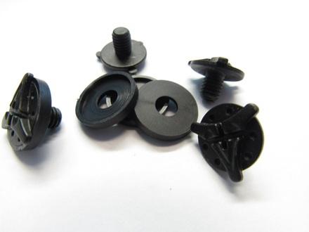 Stealth Flyte Off Road Helmet Visor Screws with a Black Washer - 4 Piece set picture