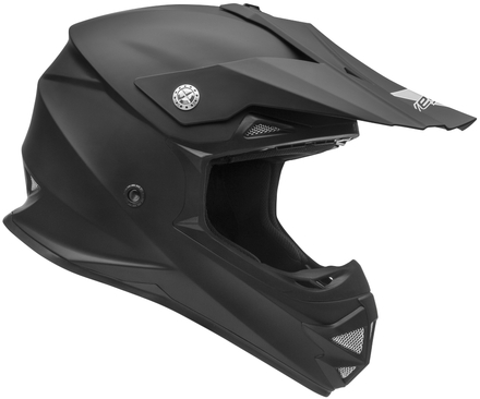 Vega Mighty X2 Youth Off-Road Helmet (Matte Black, Medium) picture