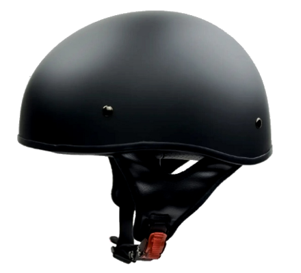 Vega Sniper Matte Black Half Helmet X-Large 61-62 CM picture