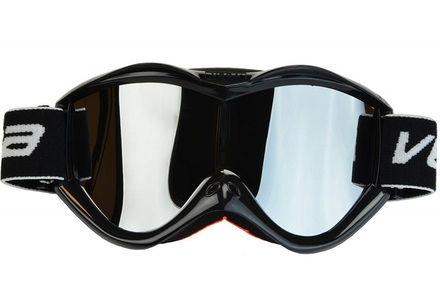 Vega Off Road Black Goggles w/ Mirrored Lens picture