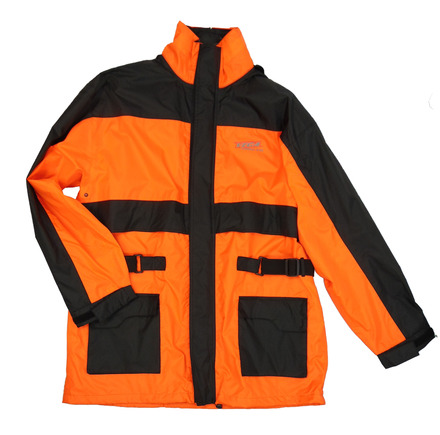 Vega Technical Gear Rain Jacket in Hi-Visibility Orange Size XL picture