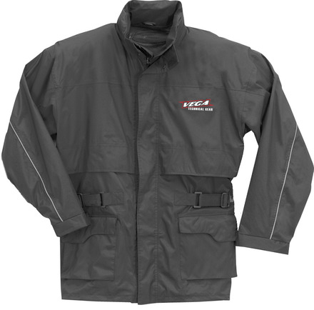 Vega Technical Gear black rain jacket in 2XSmall picture