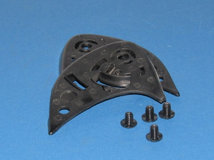 Vega Karting Pedestal Mount with screws - pair picture