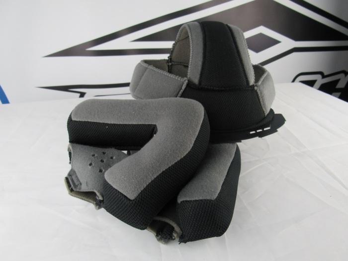 Vega Summit 3.1 2-Tone Modular Full Face Helmet Replacement Liner Cream, XX-Large