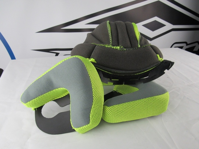 Hi-Vis Yellow, XXX-Large Vega Summit 3.0 Full Face Modular Helmet Replacement Liner
