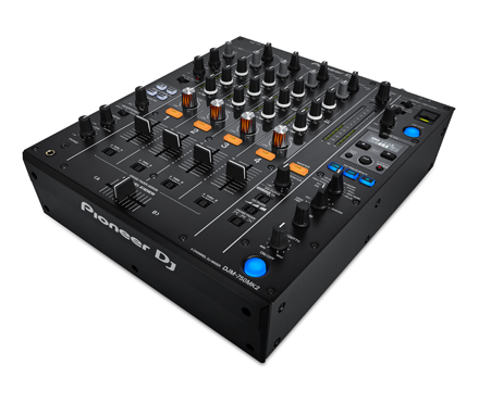 DJM-750MK2 4-CHANNEL MIXER WITH CLUB DNA BLACK picture