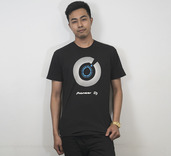 PIONEER DJ JOG WHEEL MENS T-SHIRT (M)