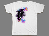 Artmix Jog Wheel t-shirt (DOUBLE X LARGE)