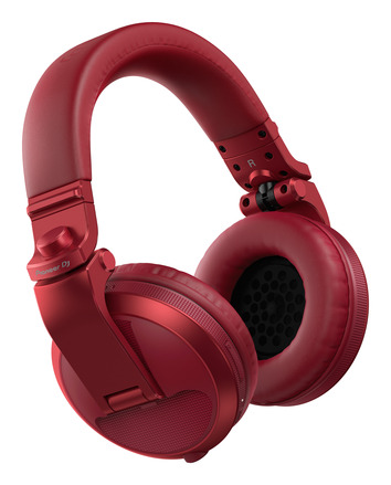HDJ-X5BT-R (RED) Over-ear DJ headphones with Bluetooth® wireless technology picture