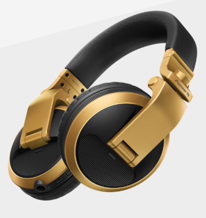 HDJ-X5BT-N (GOLD) Over-ear DJ headphones with Bluetooth® wireless technology picture