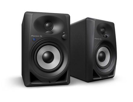 DM-40BT 4-INCH COMPACT ACTIVE MONITOR SPEAKERS (BLACK, PAIR) picture