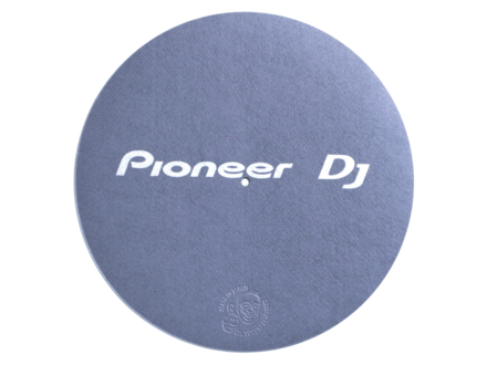 PIONEER DJ TURNTABLE SLIPMAT (GRAY) picture