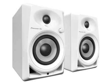 DM-40-W 4-INCH COMPACT ACTIVE MONITOR SPEAKERS (WHITE, PAIR) picture