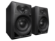 DM-40 4-INCH COMPACT ACTIVE MONITOR SPEAKERS (BLACK, PAIR)