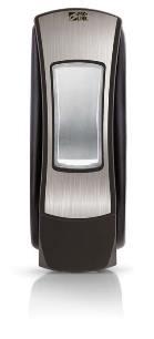 Paramount Manual Soap Dispenser, 1250 ml, Chrome/Black, Case of 6 picture