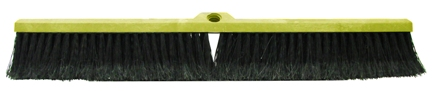 "Fine Push Broom, 24"", Case of 12. picture"