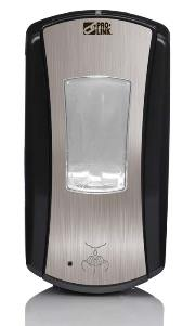 Paramount Touch-Free Soap Dispenser, 1200 ml, Chrome/Black, Case of 4 picture