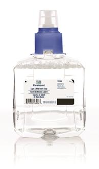 Paramount Light & Mild Foam Soap, 1200 ml, Case of 2 picture