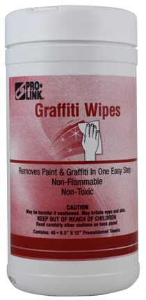 Graffiti Wipes, Case of 6 Tubs picture