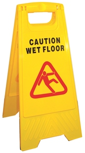 A-Frame Caution Wet Floor Sign picture