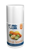 StandardAire Metered Aerosol Air Freshener, Citrus Sparkle Refill, 3000 Sprays, Case of 12
