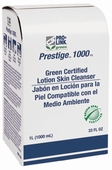 Prestige 1000 Green Certified Lotion Skin Cleanser Refills, Case of 8