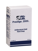 Prestige 2000 Antibacterial Gold Hand Soap Refills, Case of 4