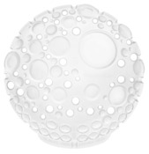 Fresh Products Dome Urinal Screen, Mango (Clear), Case of 30.