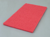 "14""x20"" RED BOOST BUFFING PAD"