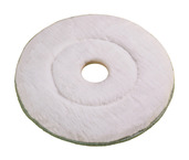 Microfiber Burnishing Pad, 24 in., Case of 2