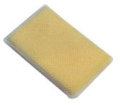 SCRUBOUT Non-Scratch Cleaning Sponge, Case of 24