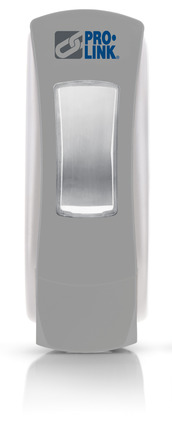 Paramount Manual Soap Dispenser, 1250 ml, Gray/White, Case of 6 picture