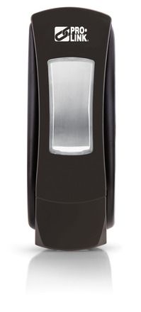 Paramount Manual Soap Dispenser, 1250 ml, Black, Case of 6 picture