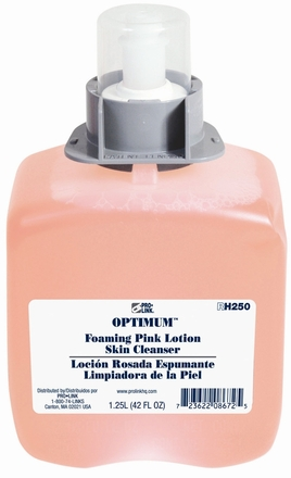 Optimum Foaming Pink Lotion Skin Cleanser Refills, 1250 ml, Case of 3 picture