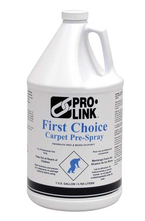 First Choice Carpet Pre-Spray, 1 Gal., Case of 4 picture