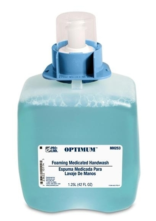 Optimum Foaming Medicated Handwash Refills, Case of 3 picture
