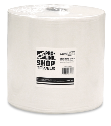 "Pro-Link Shop Towels, Standard Duty, 12""x12"" 1,100 Sheet Jumbo Roll picture"