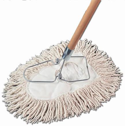 Riteline Cotton Wedge Dust Mop, Case of 12 picture