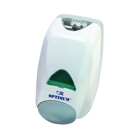 Optimum Manual Soap Dispenser, 2000 ml, Gray, Case of 6 picture